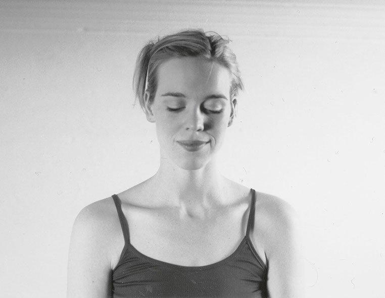 Portrait von Katrin von Chamier in Schwarz Weiß